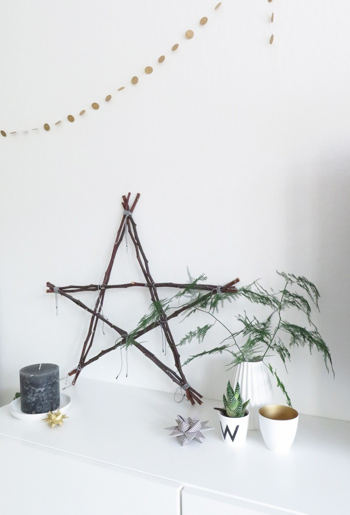Diy wooden Christmas star