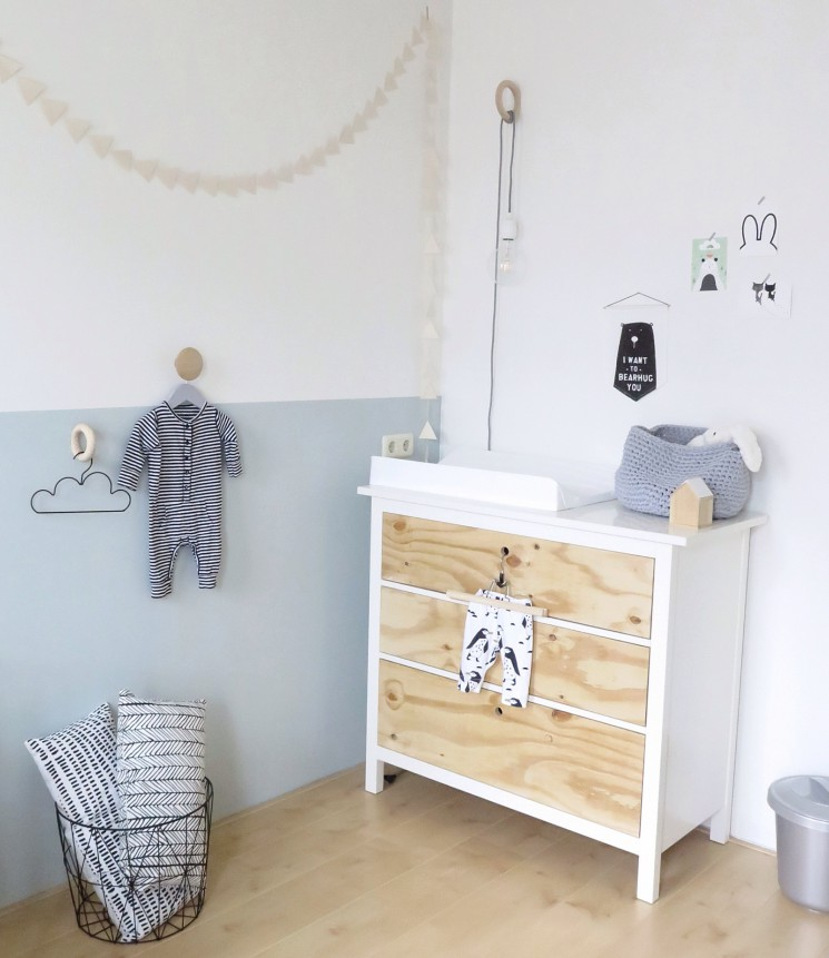 Nursery commode