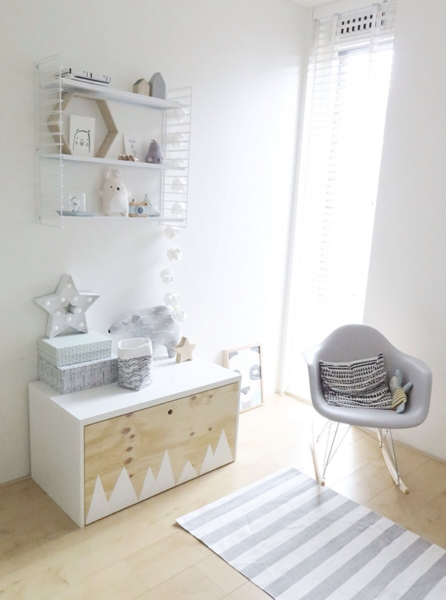 Nursery ikea hack 4