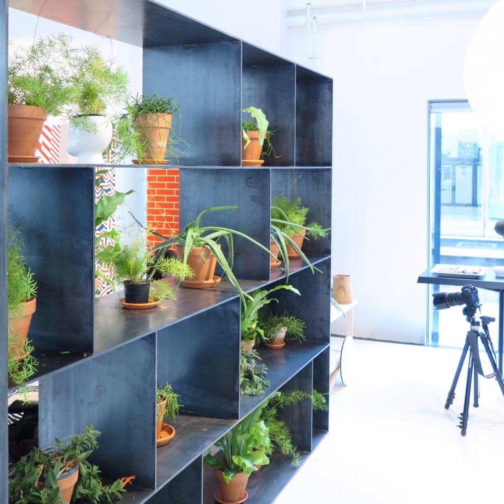 Greens at Vitra showroom