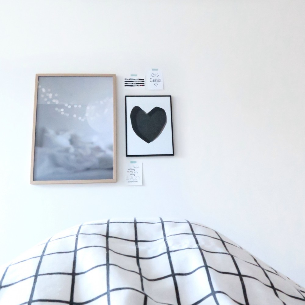 Bedroom wall styling
