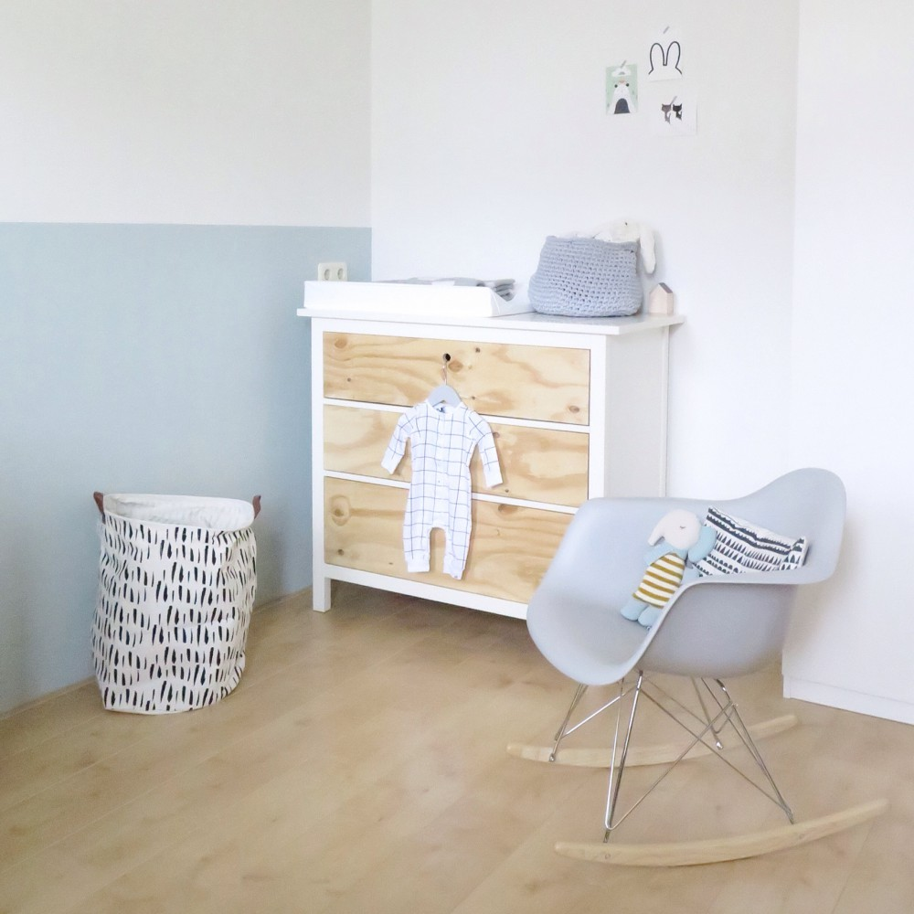 Nursery with rocking chair