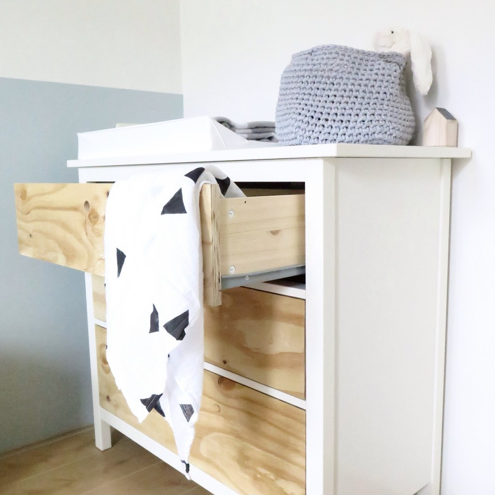Ikea Hemnes hack with underlayment