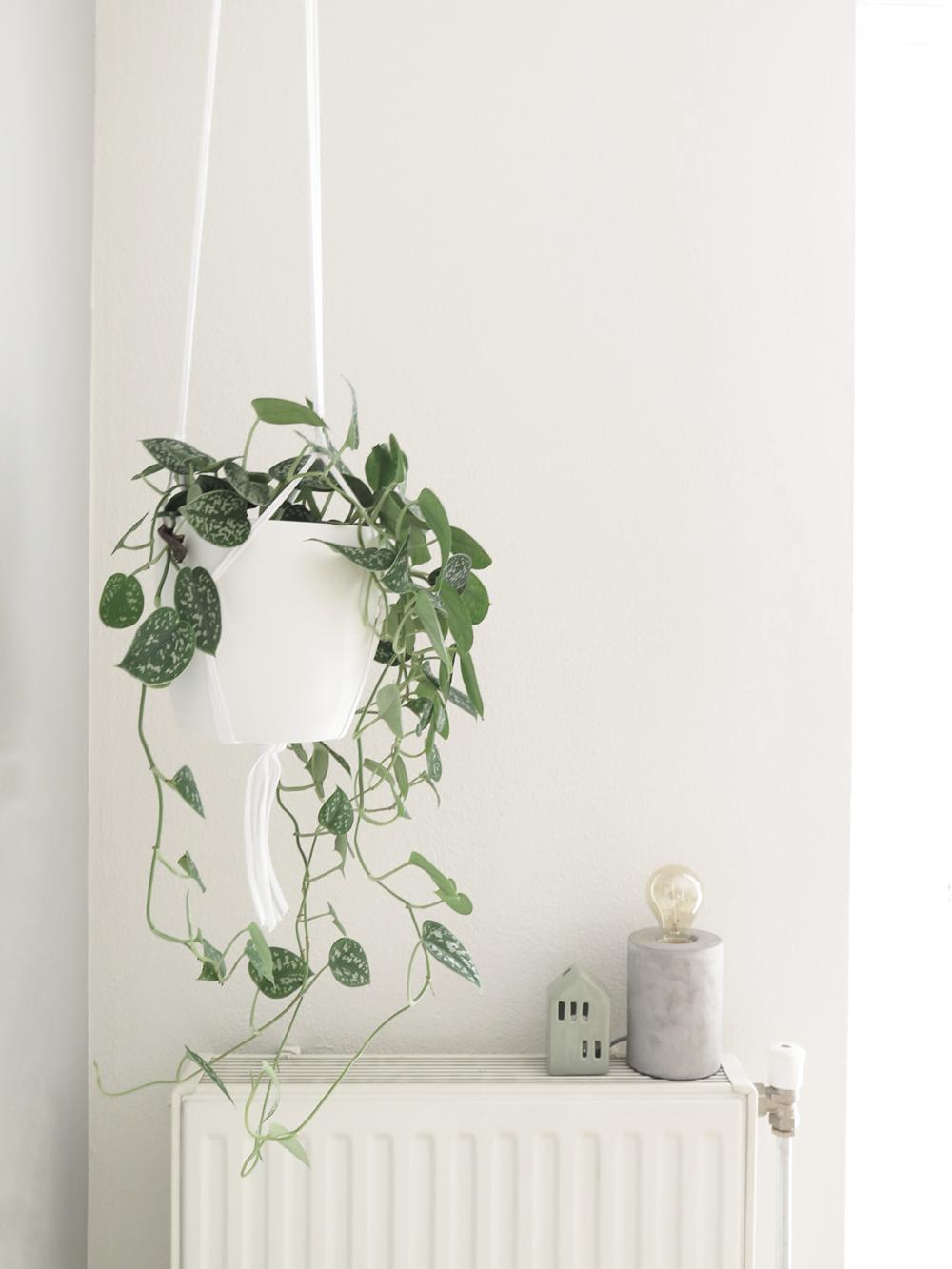 Hoekje macrame plantenhanger 1