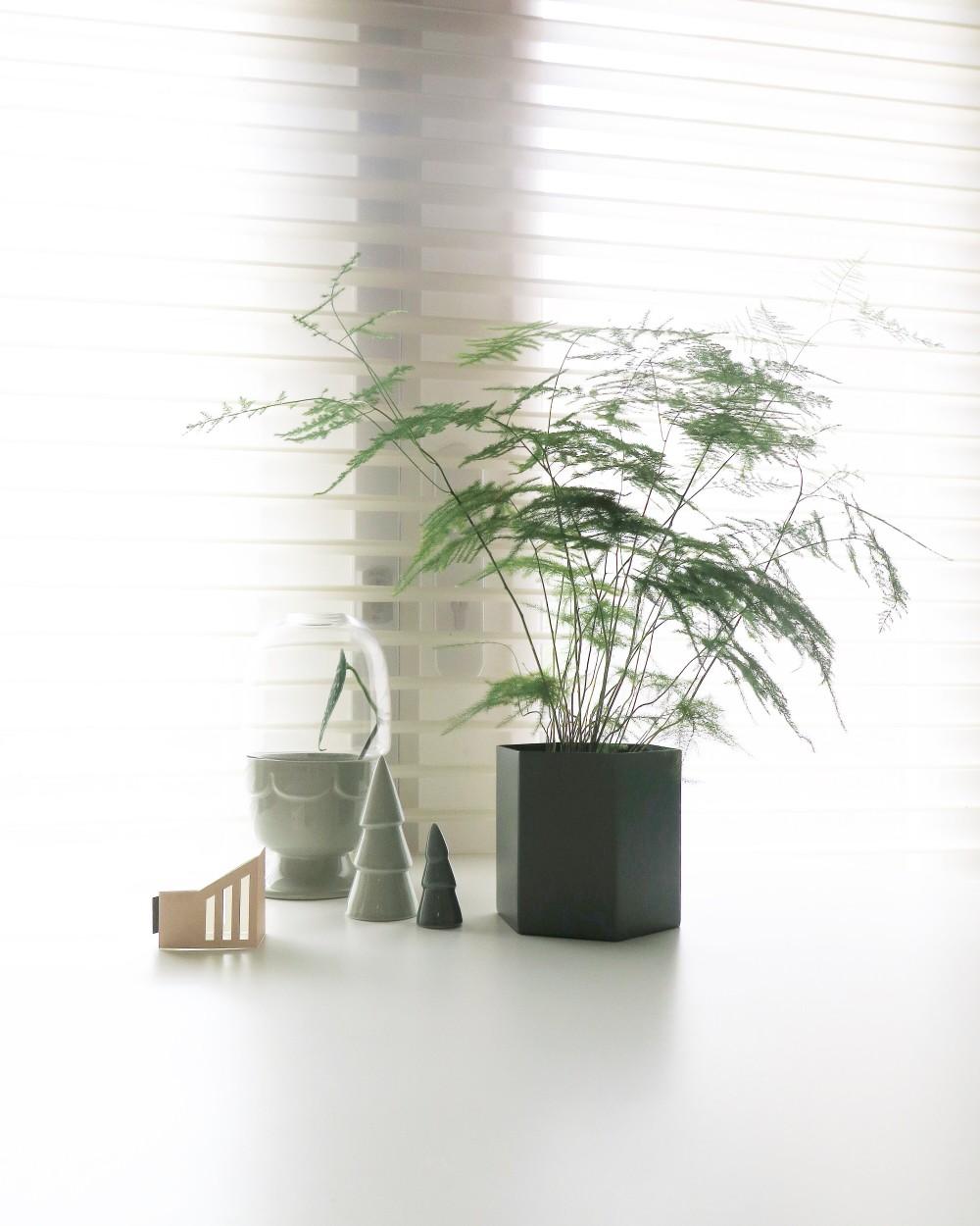 Ferm Living hexacon vase