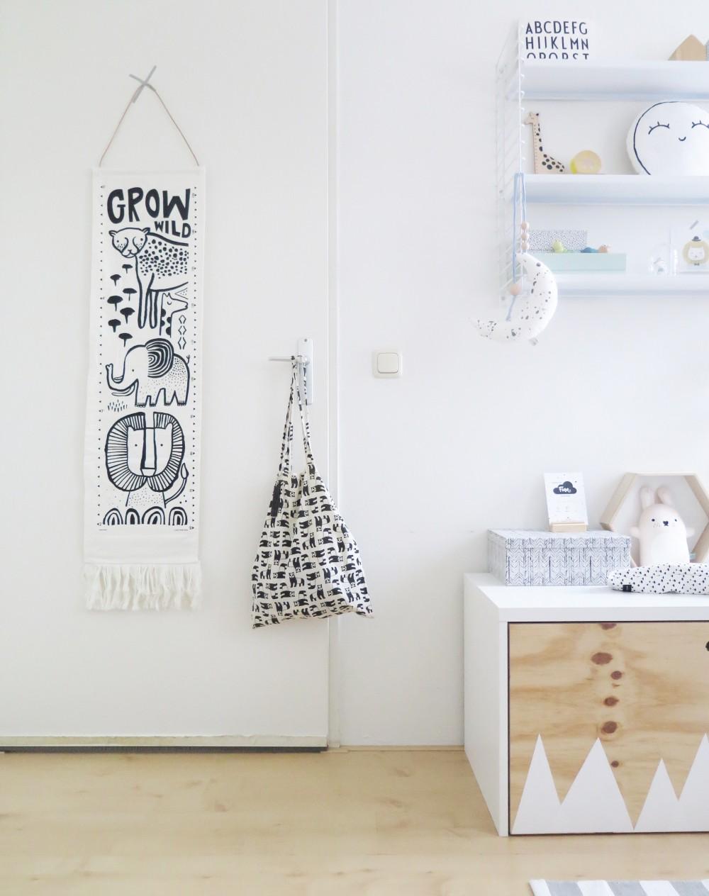 Wee Gallery canvas groeimeter