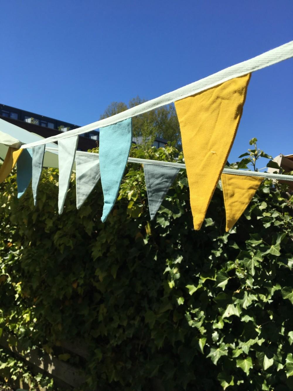 Katoenen vlaggenlijn