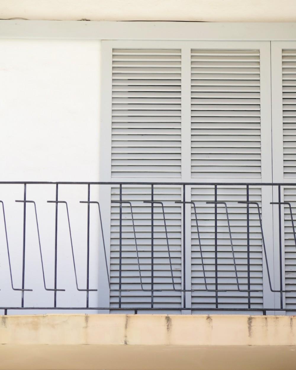 Mooi balkon Ibiza stad