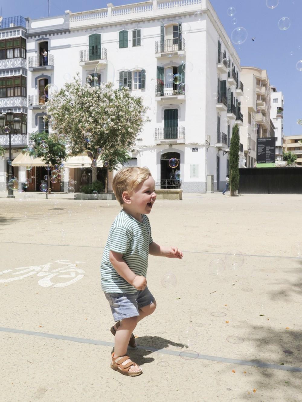 Bellenblaas Ibiza stad